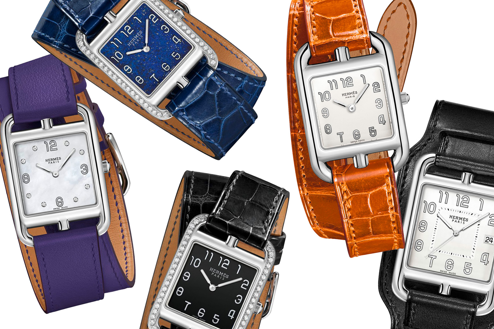 dd449d384 Hermès Cape Cod collection: 4 new masculine variations join the TGM  timepieces
