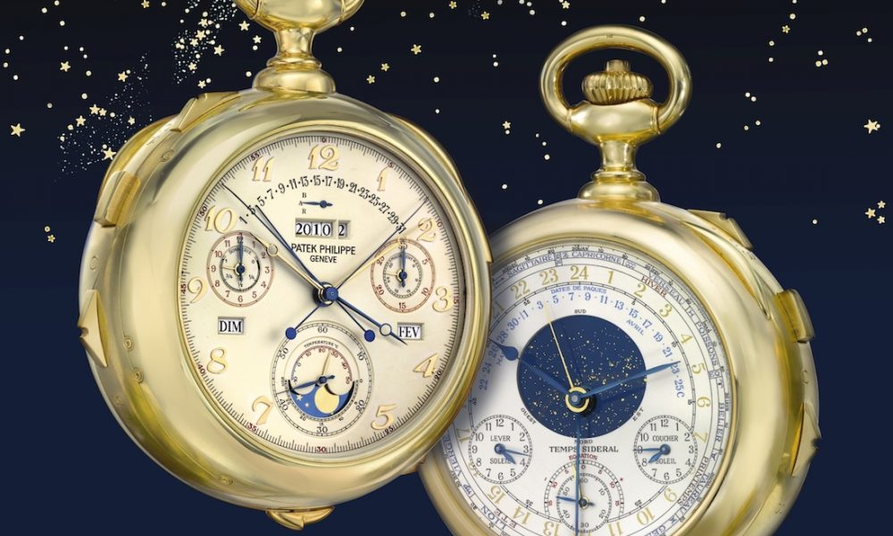 Patek Philippe Caliber 89 Grand Complication Pocket Watch ...