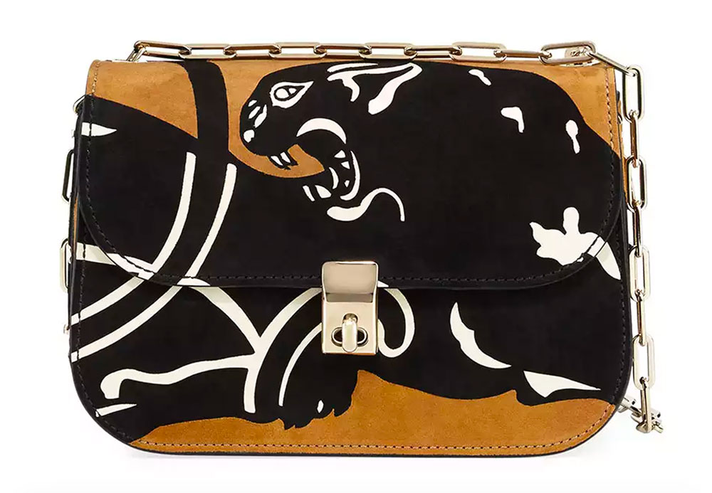 Valentino Panther Chain Shoulder Bag $3,175 VIA NEIMAN MARCUS