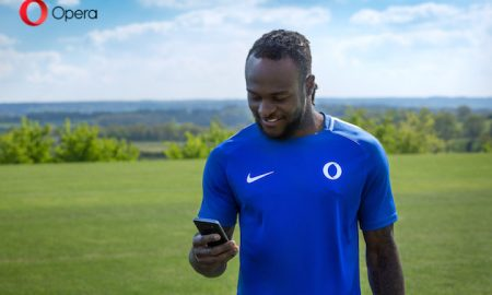 Opera announces Victor Moses as Brand Ambassador for Africa