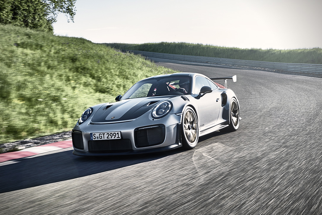2018 porsche 911 gt2 rs puts on a show at goodwood festival of speed market digest nigeria. Black Bedroom Furniture Sets. Home Design Ideas