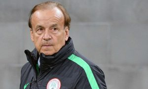 Super Eagles Coach; Gernot Rohr