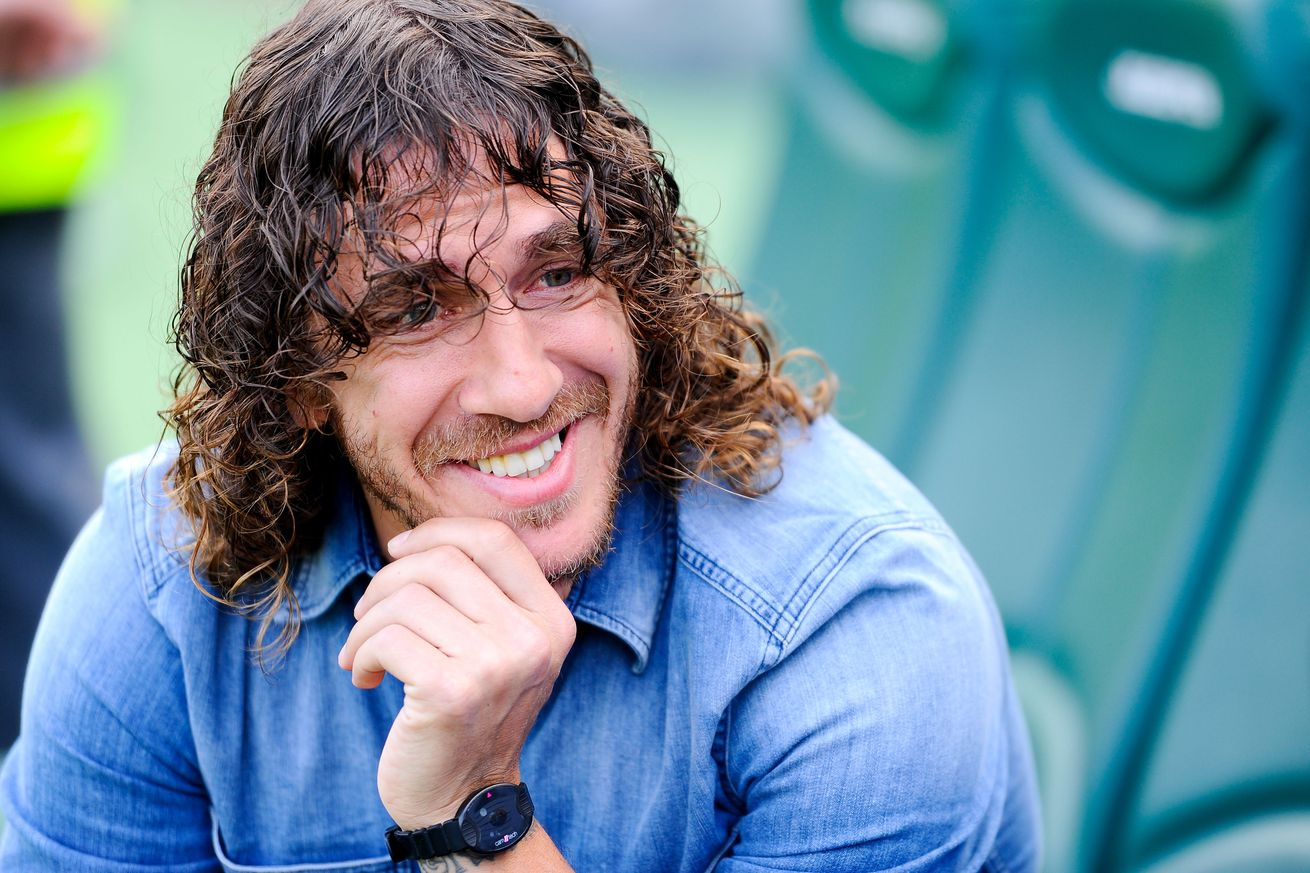 Puyol For UEFA Champions League Tour In Nigeria