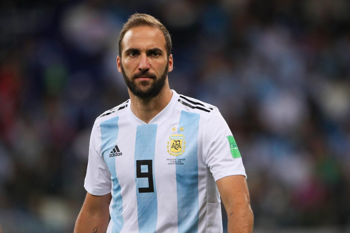 Higuain retires from international football