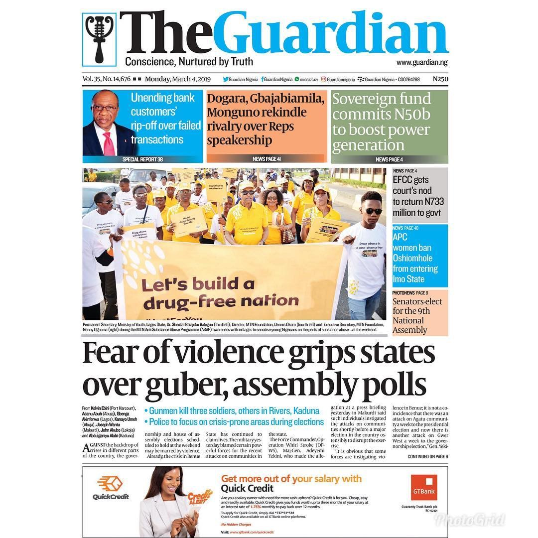 Fear of violence grips states