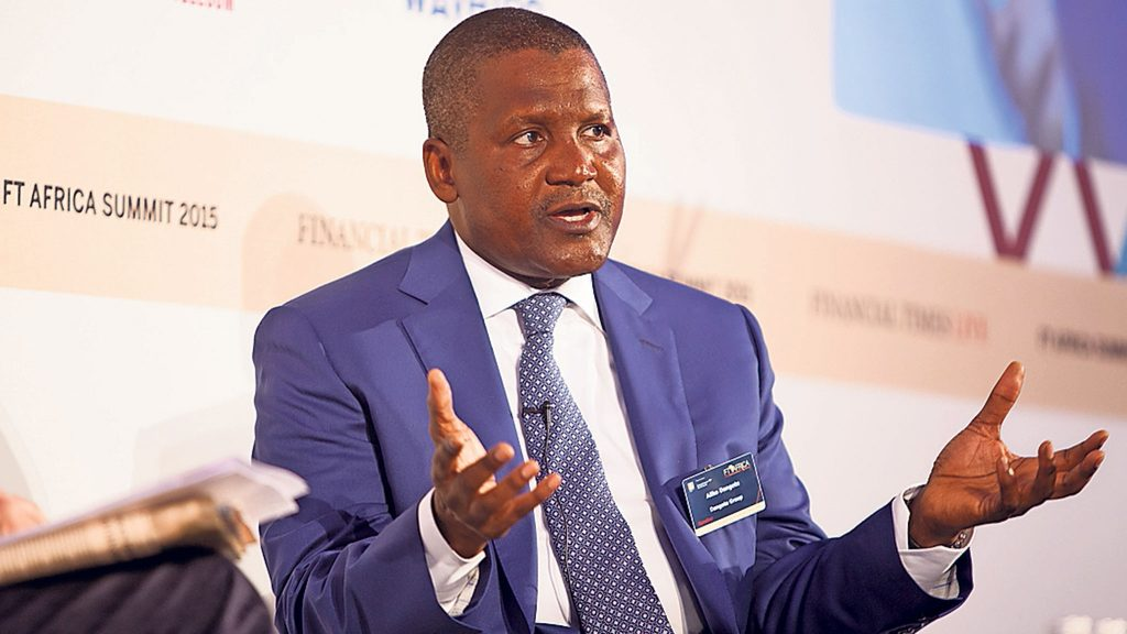 Aliko Dangote says he is committed to combating malaria on the continent