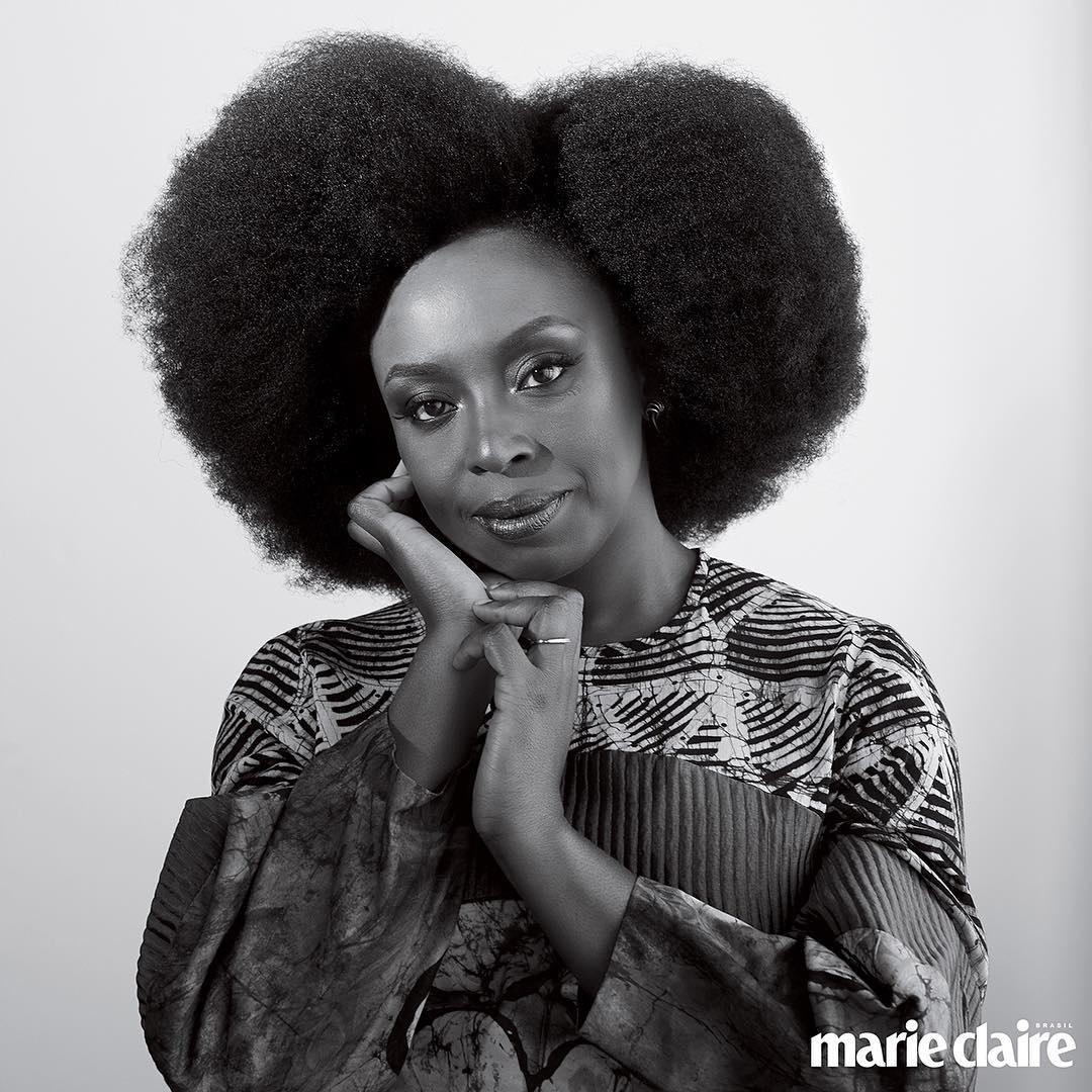 Chimamanda Adichie is the cover star of Marie Claire Brazil