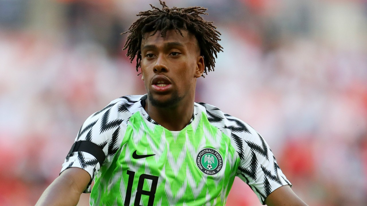 Iwobi Battles Musa, Ighalo For Player Of The Year