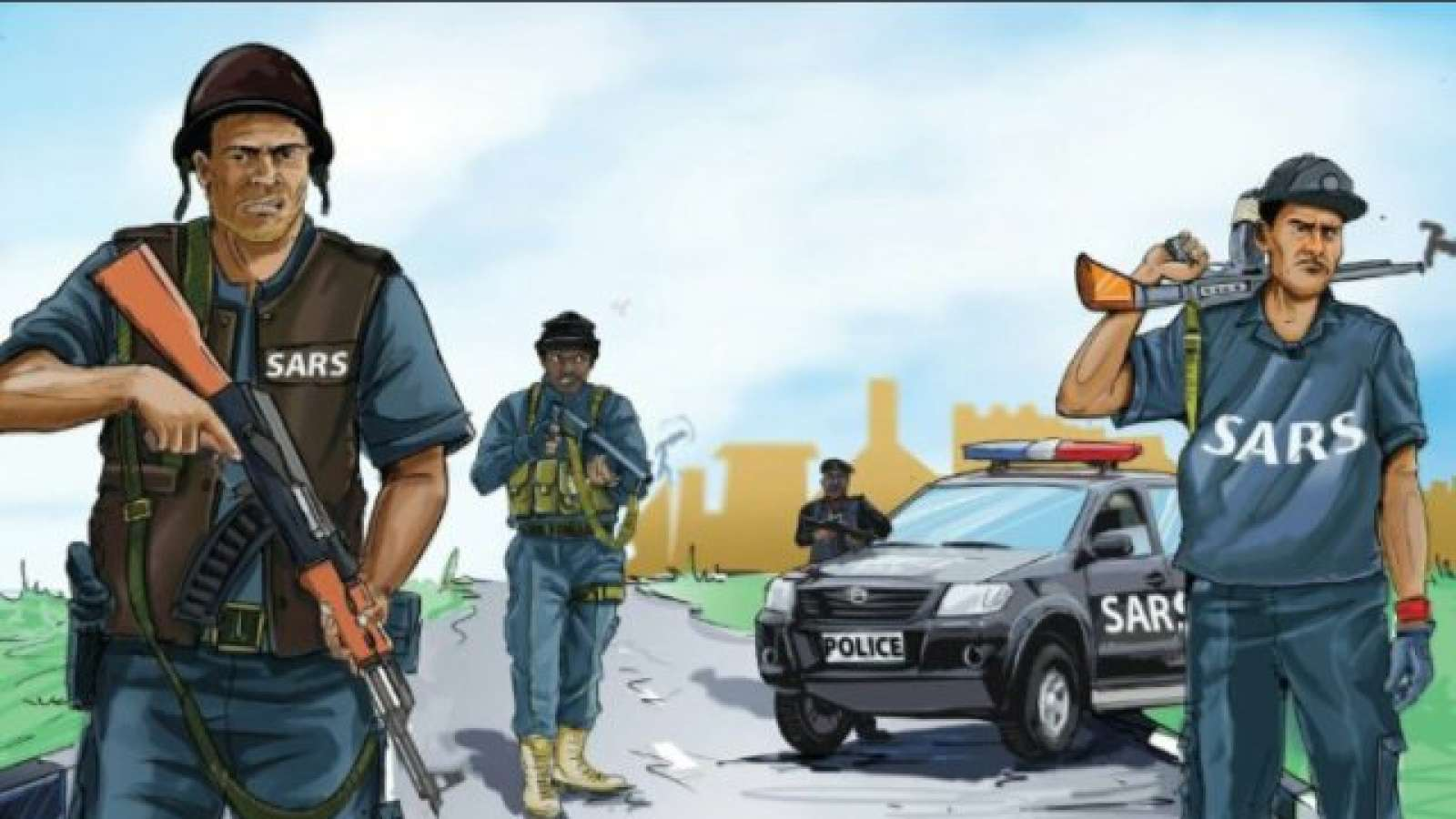 SARS officers shot a young citizen dead