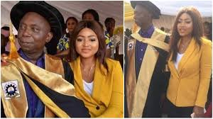 Helen Paul has a message for those trolling Regina Daniels. The famous comedian and media personality took to her Instagram page on Sunday, April 28, 2019, where she made a video to the trollers after Regina. According to her, its nobody's business to determine the age anyone should get married