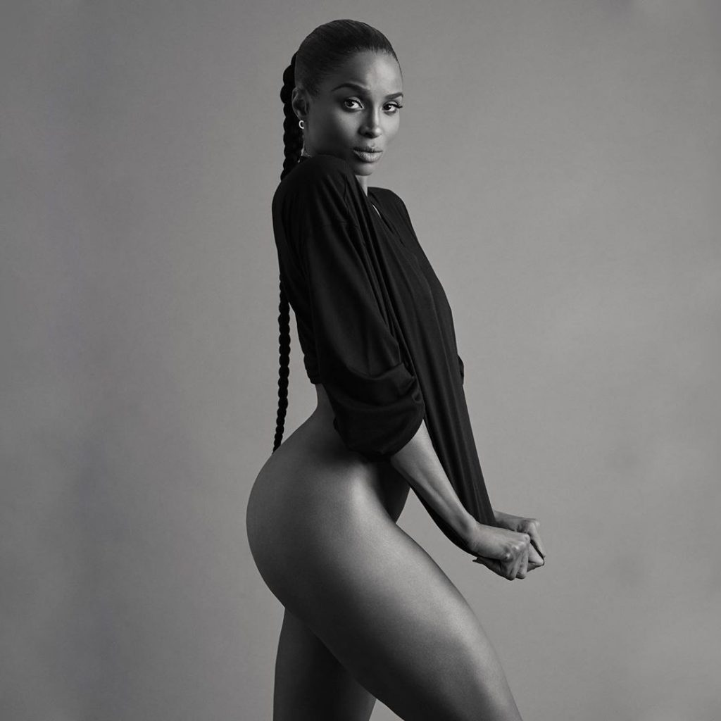 """Ciara goes nude to promote new album """"Beauty Makes"""""""