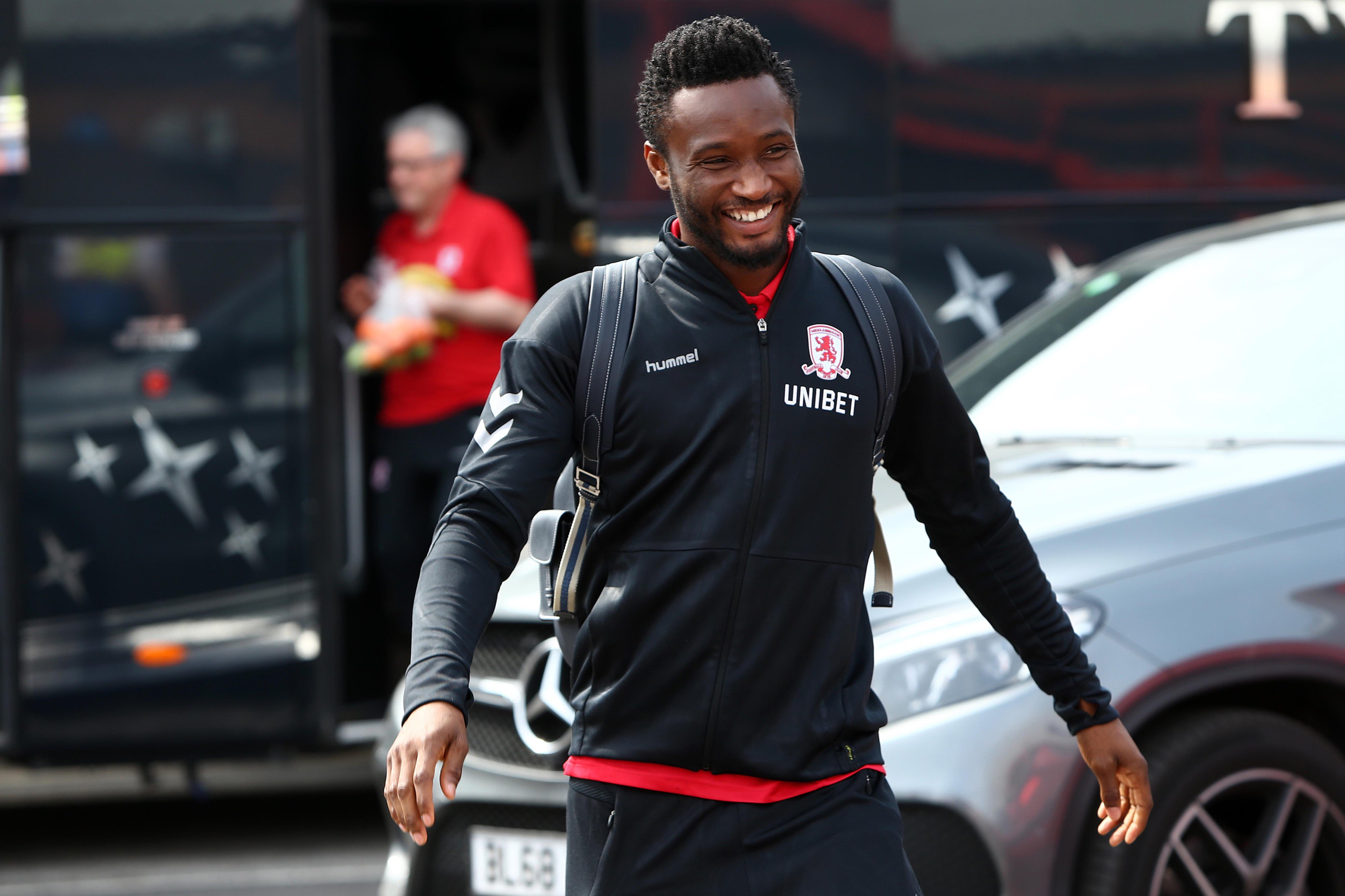 Mikel is set to feature