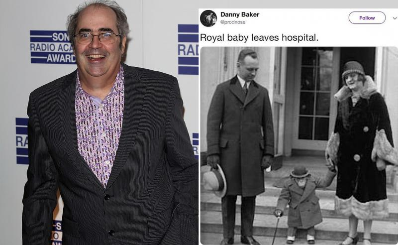 Danny Baker sacked for Racist Royal baby tweet