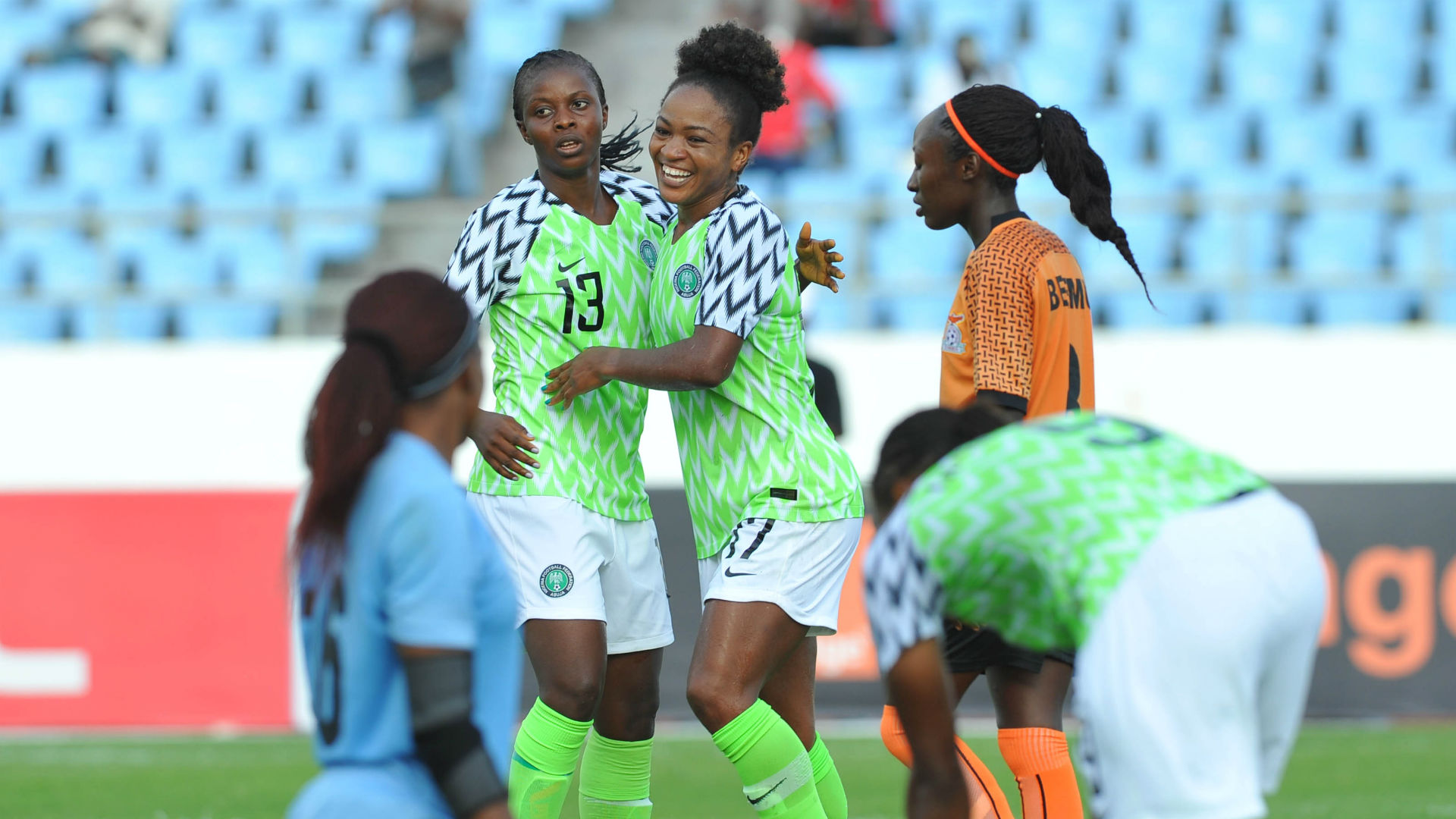Falcons to face Ghana
