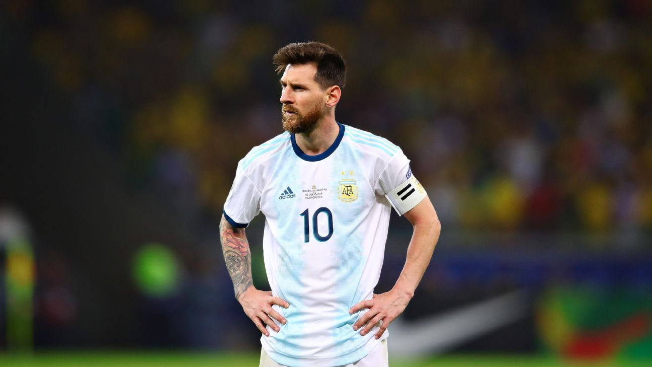 Messi banned