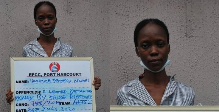 Nigerian lady defrauds victims of N179mComputer Crime