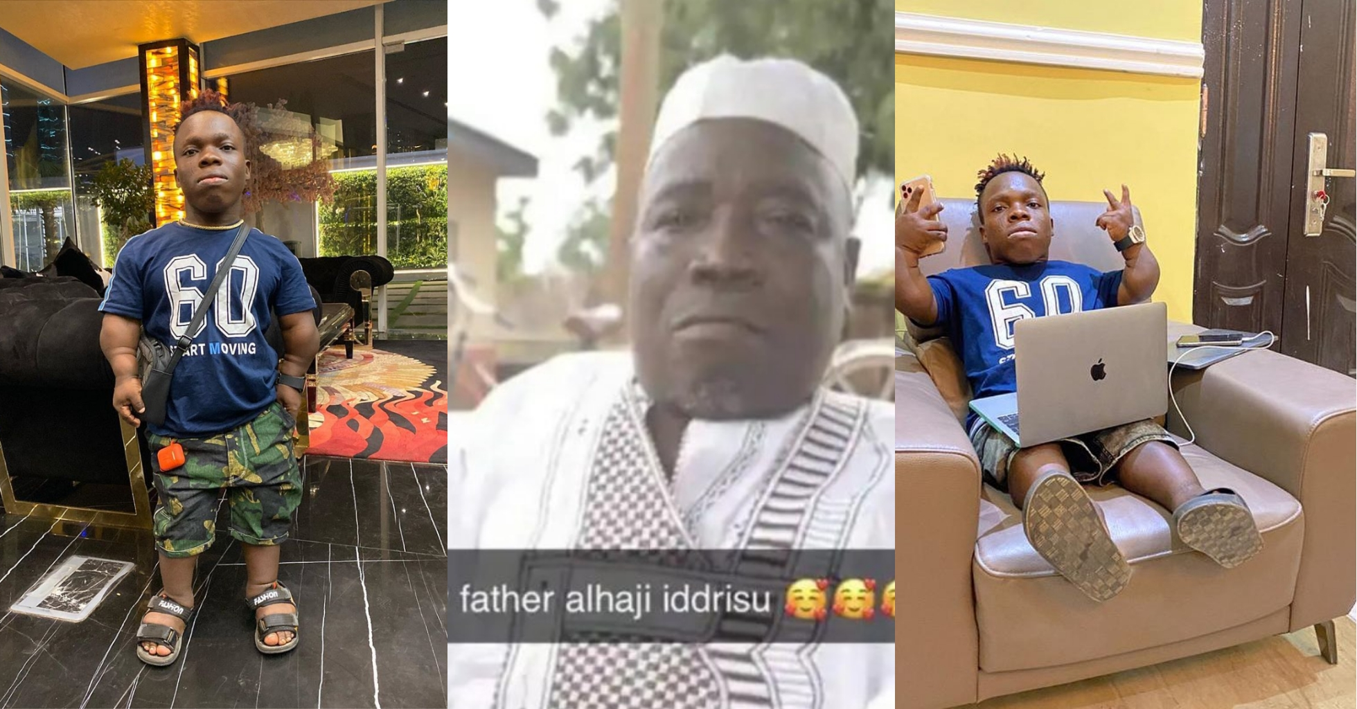 Shatta Bandle And Father
